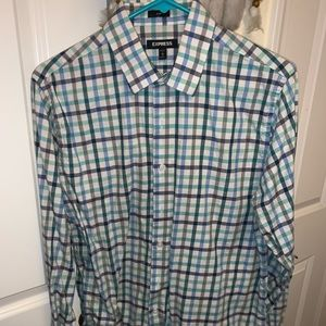 Express casual button-up